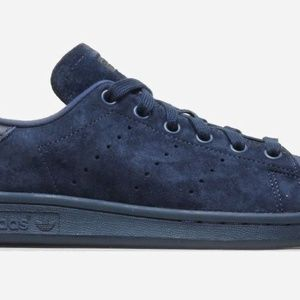 adidas Shoes - NEW Adidas Stan Smith Navy Blue Men s 13 Suede 9b8b51366